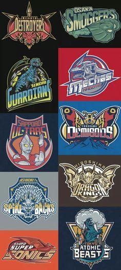 Godzilla teams