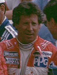 Mario Andretti at the 1994 FIFA World Cup Final Draw