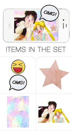 """""""OMG!"""" by galaxybun on Polyvore featuring art"""