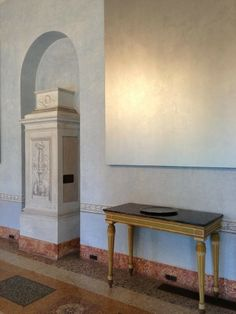 David Simpson a Villa Panza, Varese