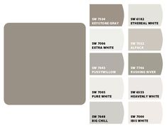 Mockingbird Paint Colors By Sherwin Williams Exterior Trim To Match Andersen Windows Storm