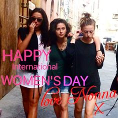 HAPPY International WOMEN'S DAY! Love from Nonna x #Ournonnaskitchen #internationalwomensday #IWD #ilovefood #ilovenonna #women #goodfood #nonna #italy #Italian #happy #brighton #brightonbusiness