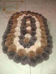 Resultado de imagen para tapetes de pompom
