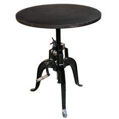 """Crank Table 30"""" Round 