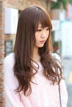 Cute Korean Hairstyles For Girls With Bangs 2013 - New Hairstyles, Haircuts  Hair Color Ideas