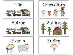 Goldilocks and the Three Bears Unit for Kindergarten Kindergarten Literacy, School Art Projects, School Ideas, Fairy Tale Activities, Fairy Tales Unit, Reception Class, Traditional Tales, Goldilocks And The Three Bears, Bears