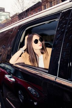 Love the photography here How A Model Gets Ready for NYFW - The Coveteur The Coveteur, Bryant Park, Get Ready, Photography Tips, Sunnies, Pairs, Michael Kors, My Style, Model