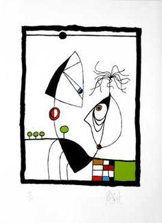 TRALFAMADORE #1 Limited Edition, Signed Silkscreen Print | Kurt Vonnegut, Jr. | Quill & Brush