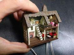 Miniature Dollhouse for your dollhouse...