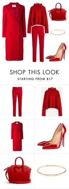 """Untitled #104"" by acelyadinc ❤ liked on Polyvore featuring Gucci, Lanvin, Christian Louboutin and Givenchy"