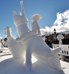 Snow and Ice Sculpture