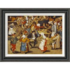 The Wedding Dance Pieter Bruegel Elder 1566