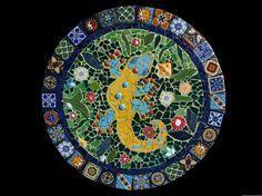 Mosaic Wall Hanging #vintagemaya #mosaic #handcraft #home decor #wall hanging
