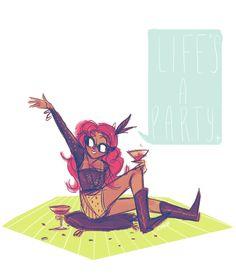 Pinky Pie (by shaburdies)