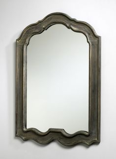 """Kathryn Mirror design by Cyan Design - 28.5""""(w) x 39""""(h) x 1""""(ext) - Distressed grey Cyan Design makes fabulous home décor items that not only help you create a warm and inviting space, but also one o"""