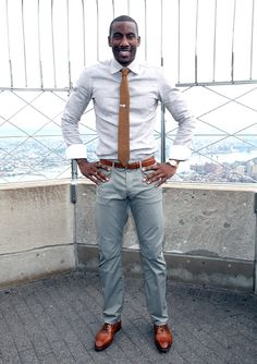 Probably the best dressed player in the NBA