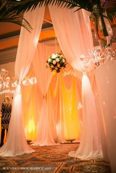 Beautiful ceremony decor by Chicago's Taylor & Co.  Get your four complimentary tickets to one of our Luxury Bridal Events at www.bridalexpotickets.com