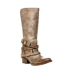DROVER Boot - STONE by SM Free Bird Collection