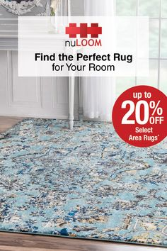 Looking for a geometric, floral, or Persian-inspired area rug to spruce up your room? Look no further! nuLOOM has them all. Shop Overstock today and save up to 20% off on the perfect addition to complete your home!