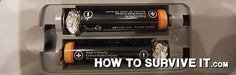 Replace AA Batteries With AAA Batteries   Off The Grid Hacks   Homesteading Tips