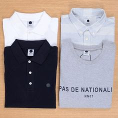 Another delivery of No Nationality shirting available in store & online