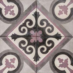 Cement Encaustic Tile Tangier Design — 994