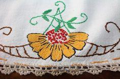 Vintage Centerpiece Doily Arts and Crafts by EmeliasHouseOfLinens, $18.00