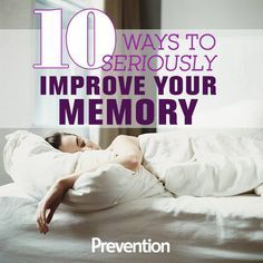 10 carefully researched, science-backed methods to fire up your mind's recall and retention. Benevilla provides programs and services to ages 1-100 in the West Phoenix Valley. www.Benevilla.org #memory #aging