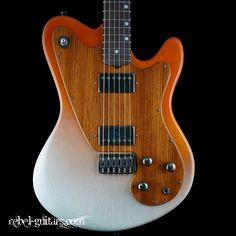 M Tone Counterpunch Guitar w Lollar Pickups Prototype Seen in Premier Guitar