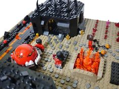 I feel the lava people of the Nexo Knights world are getting a bad reputation just because Jestro summoned them to battle. They probably would rather be rel...