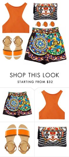 """""""A Wish for Sunlight"""" by silhouetteoflight ❤ liked on Polyvore featuring Dolce&Gabbana, Mikoh, ASOS and Camilla"""