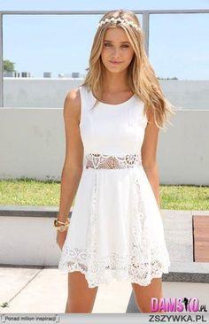 Nieziemska sukienka no i dziewczyna :)