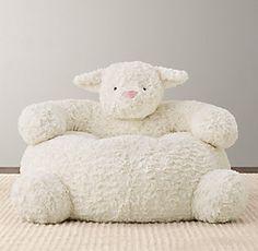 RH Baby & Child's Textured Plush Lamb Chair:The softest seat in the house is also one of the friendliest. Lamb Nursery, Girl Nursery, Sheep Nursery, Rh Baby, Baby Boy, Restoration Hardware Baby, Nursery Accessories, Baby Bedroom, Nursery Bedding