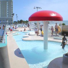Spashes Water Park Children's Areas | Kids will enjoy splashing around in the kiddie pools! | Myrtle Beach | South Carolina | Water Park Fun