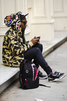pharrel / bape