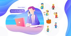 How to make On Demand service app like Urbanclap ? Mobile Game Development, Software, Web Design, Thoughts, Reading, Programming, Blog, Design Web, Reading Books