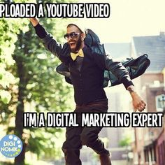 Ha! Not quite... #DigitalMarketing #digitalmarketingisharderthanthat