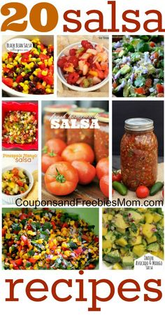 20 Favorite Salsa Recipes!