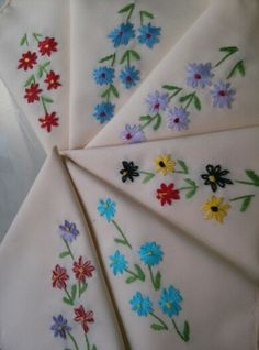 cute napkins by lovelyhandmade711