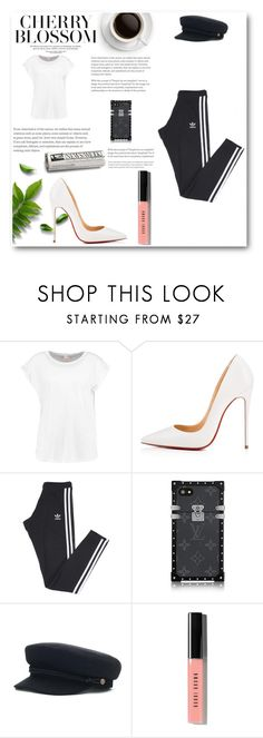 """""""Jelena style"""" by neiracilovic-i ❤ liked on Polyvore featuring Christian Louboutin, adidas and Bobbi Brown Cosmetics"""