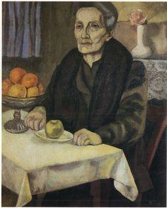 The Landlady by Nina Hamnett (British 1890–1956)