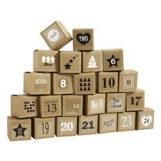 Nordal Box calender set