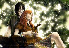 Lily & severus by rohanelf