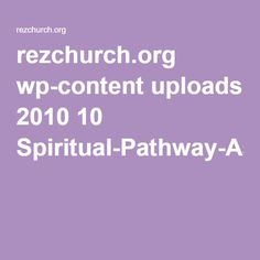 rezchurch.org wp-content uploads 2010 10 Spiritual-Pathway-Assessment.pdf