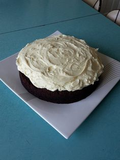 Black Velvet Cake with Cream cheese Icing (aka Chocolate Beetroot cake)   I made it today - so DELISH!