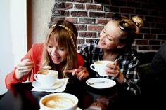 Rehellisesti yks parhaista jutuista on luovuttaa kesken tylsän luentopäivän ja lähteä vaan cappuccinolle tyttöjen kanssa.