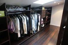 1000 images about dressing on pinterest armoires merlin and chalkboard doors - Dressing sous pente ikea ...