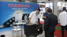 O Engenheiro Sr. Fagner Brasil e o Diretor Sr. Marcos Oliveira, acompanhando de perto as novidades do setor na FIEE ( 28ª Feira Internacional da Indústria Elétrica, Energia e Automação) realizada no Pavilhão de Exposições do Anhembi