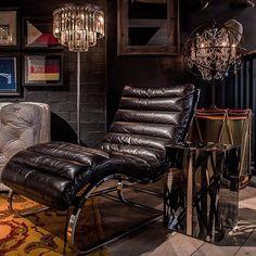 @timothyoulton #bilbao #chaise #leather #homedecor #livingroom #interiordesign #style #timothyoulton