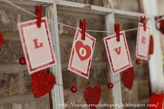 Heart & Love Garland by Mary